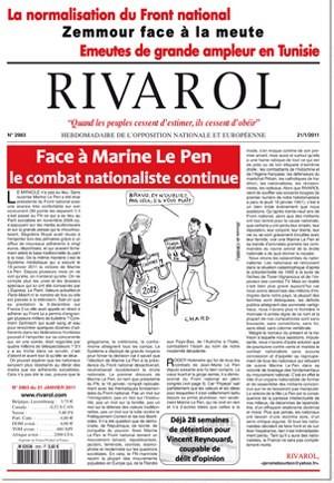 Rivarol n°2983 version numérique (PDF)