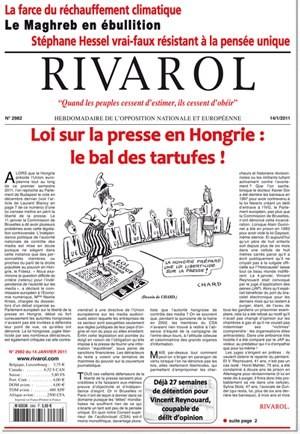 Rivarol n°2982 version numérique (PDF)