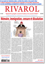 Rivarol n°3457 du 3/2/2021