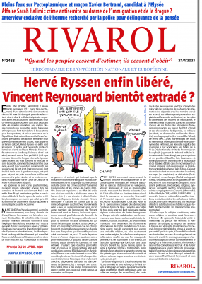 Dernier numéro Rivarol