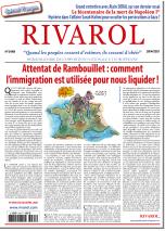 Rivarol n°3469 du 28/4/2021...