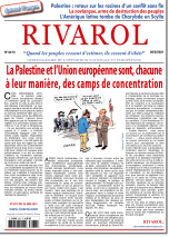 Rivarol n°3473 du 26/5/2021