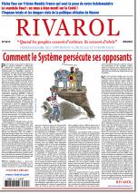 Rivarol n°3475 du 9/6/2021...