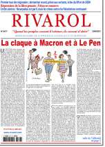 Rivarol n°3477 du 23/6/2021...