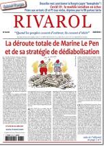 Rivarol n°3478 du 30/6/2021...