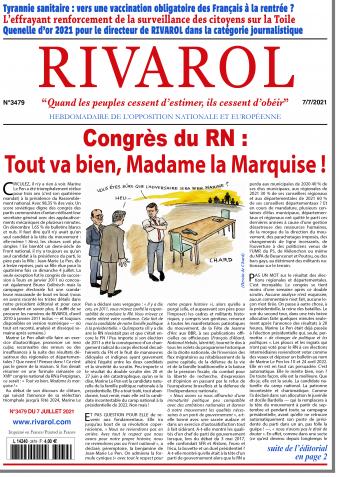 Rivarol n°3479 du 7/7/2021