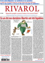 Rivarol n°3483 du 1/9/2021