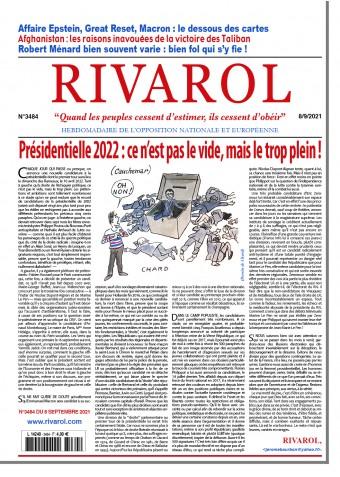 Rivarol n°3484 du 8/9/2021