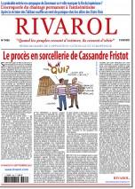 Rivarol n°3485 du 15/9/2021