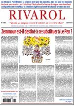 Rivarol n°3486 du 22/9/2021