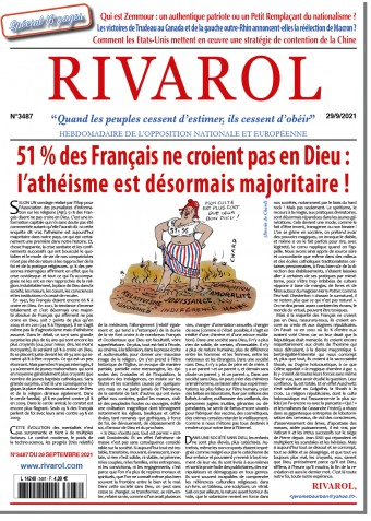 Rivarol n°3487 du 29/9/2021
