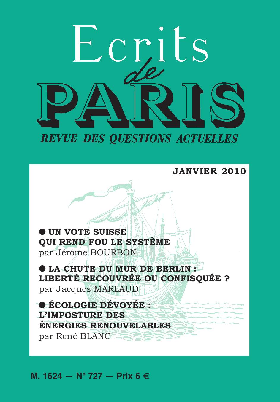 janvier 2010