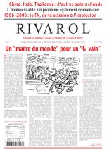 Rivarol n°2881 version numérique (PDF)