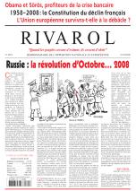 Rivarol n°2875 version numérique (PDF)