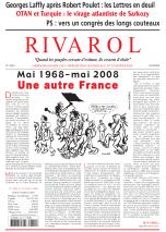 Rivarol n°2854 version numérique (PDF)