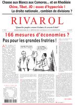 Rivarol n°2853 version numérique (PDF)