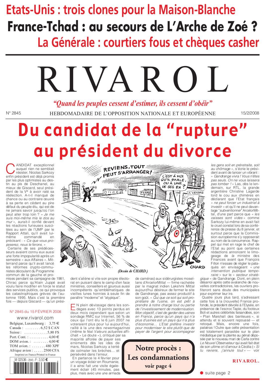 Rivarol n°2845 version numérique (PDF)