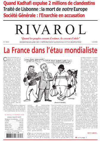 Rivarol n°2843 version numérique (PDF)