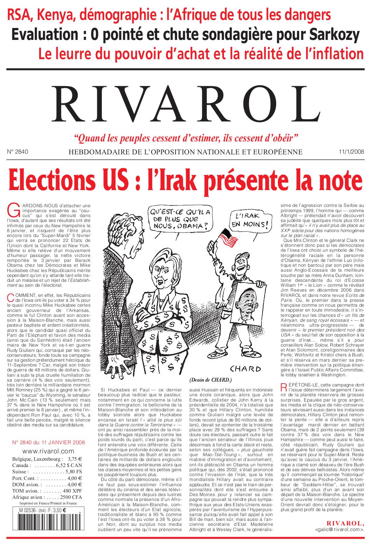 Rivarol n°2840 version numérique (PDF)
