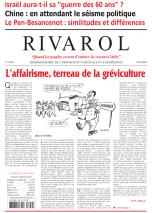 Rivarol n°2859 version numérique (PDF)