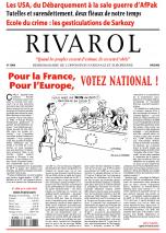 Rivarol n°2908 version numérique (PDF)