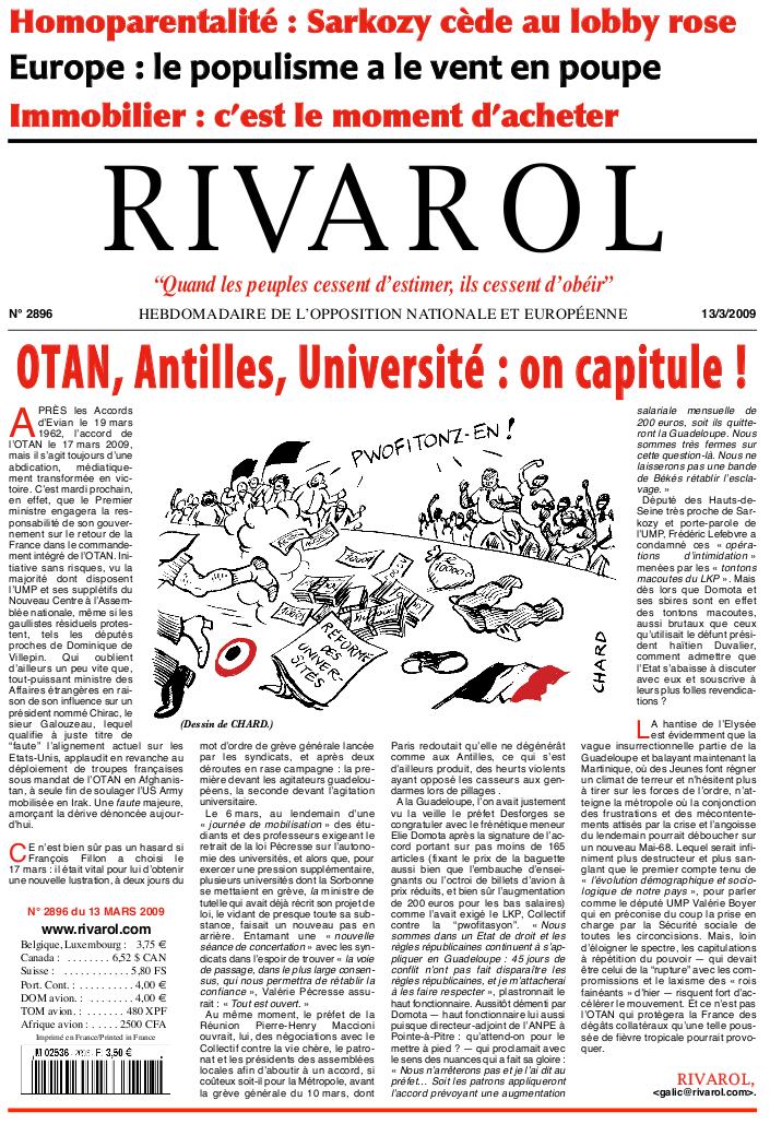 Rivarol n°2896 version numérique (PDF)