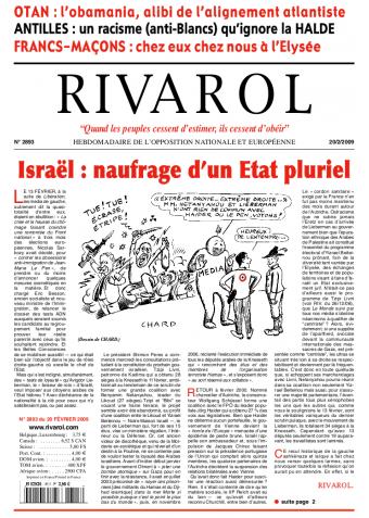 Rivarol n°2893 version numérique (PDF)