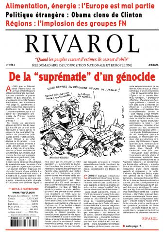 Rivarol n°2891 version numérique (PDF)