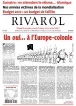 Rivarol n°2922 version numérique (PDF)