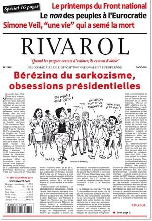 Rivarol n°2945 version numérique (PDF)