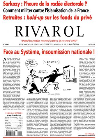 Rivarol n°2943 version numérique (PDF)