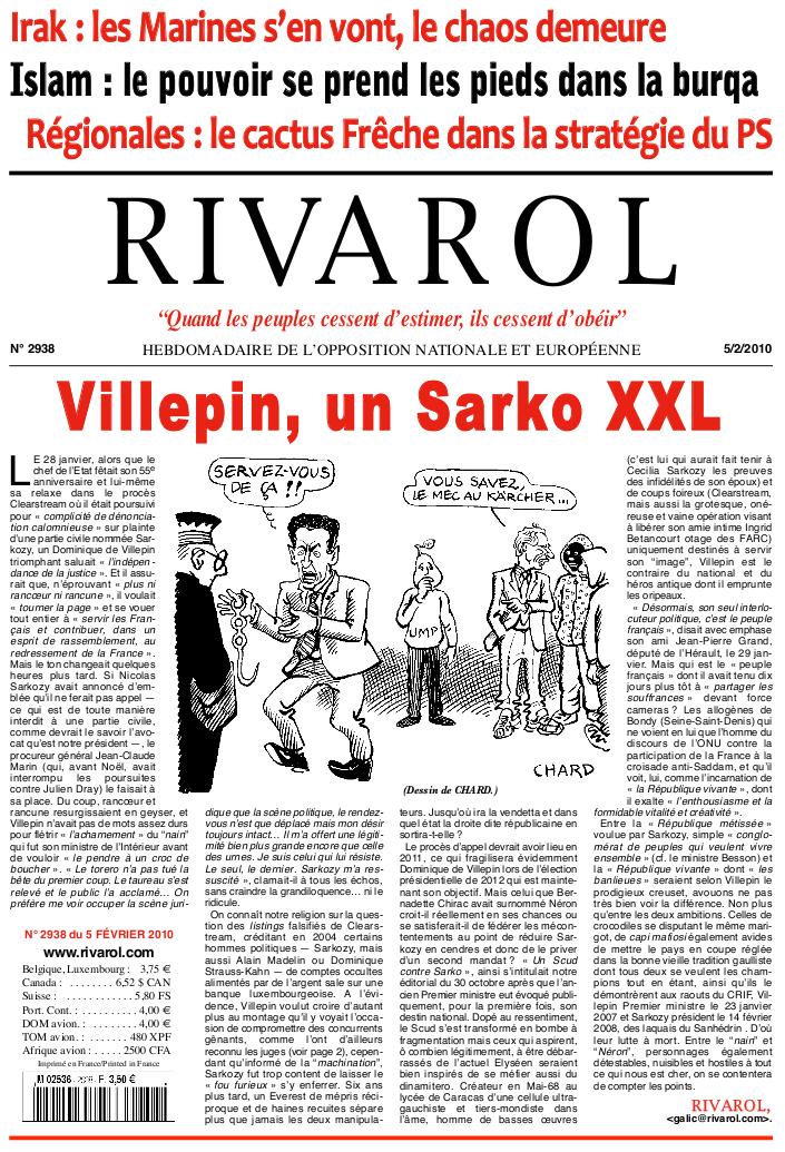 Rivarol n°2938 version numérique (PDF)