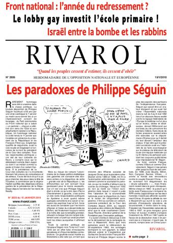 Rivarol n°2935 version numérique (PDF)