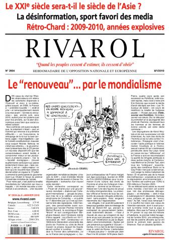 Rivarol n°2934 version numérique (PDF)