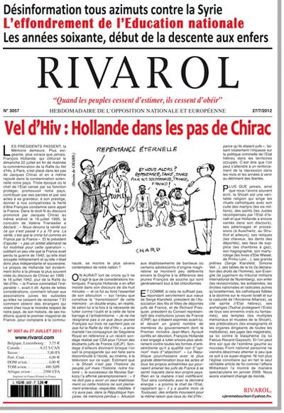 Rivarol n°3057 version numérique (PDF)
