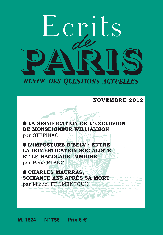 novembre 2012 (PDF) version numérique