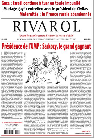 Rivarol n°3070 version numérique (PDF)