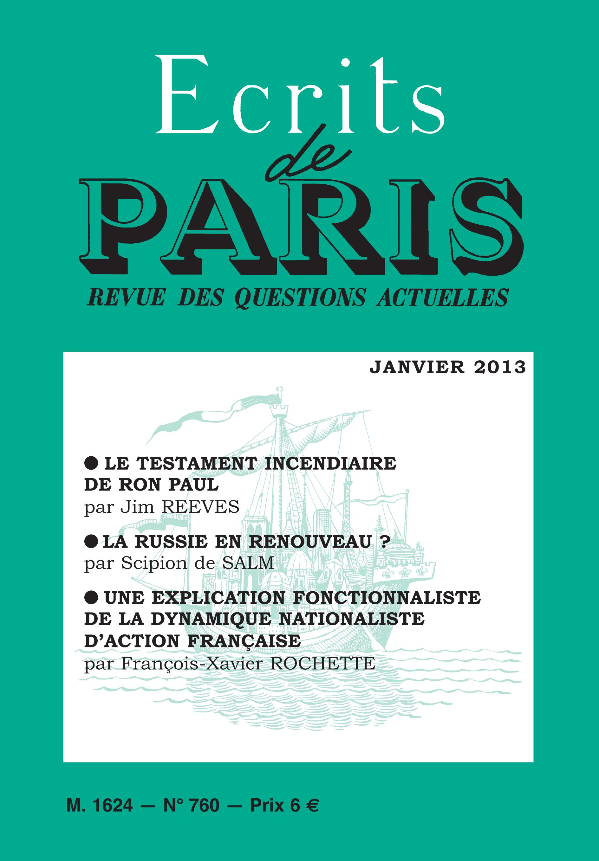 janvier 2013 (PDF) version numérique