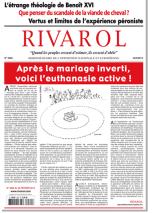 Rivarol n°3082 version numérique (PDF)