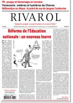 Rivarol n°3085 version numérique (PDF)