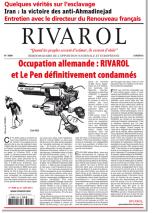 Rivarol n°3099 version numérique (PDF)