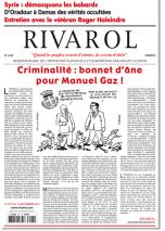 Rivarol n°3107 version numérique (PDF)
