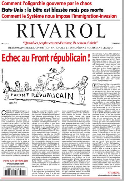 Rivarol n°3112 version numérique (PDF)