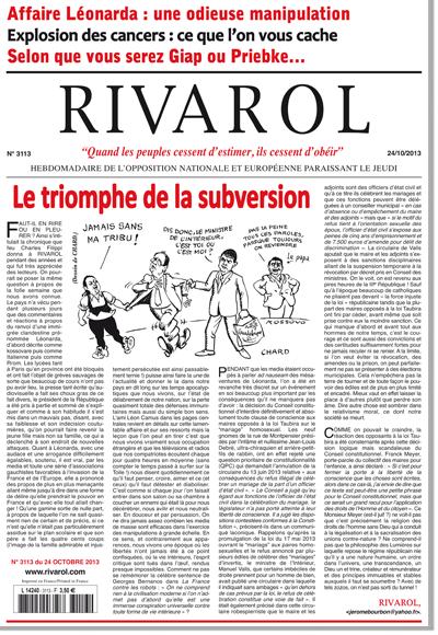 Rivarol n°3113 version numérique (PDF)