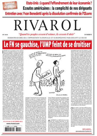 Rivarol n°3114 version numérique (PDF)