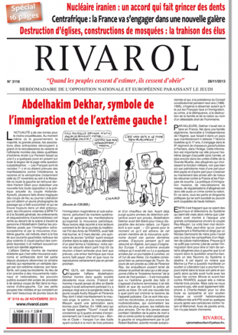 Rivarol n°3118 version numérique (PDF)