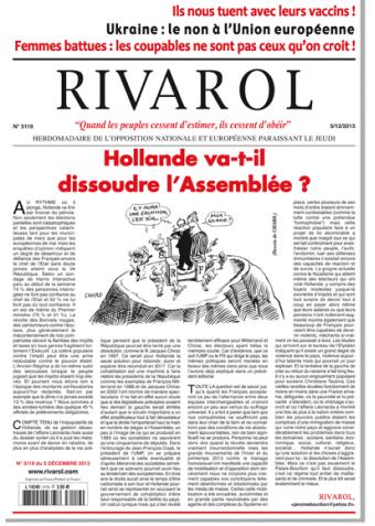 Rivarol n°3119 version numérique (PDF)