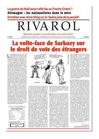Rivarol n°3024 version numérique (PDF)
