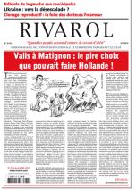 Rivarol n°3135 version numérique (PDF)
