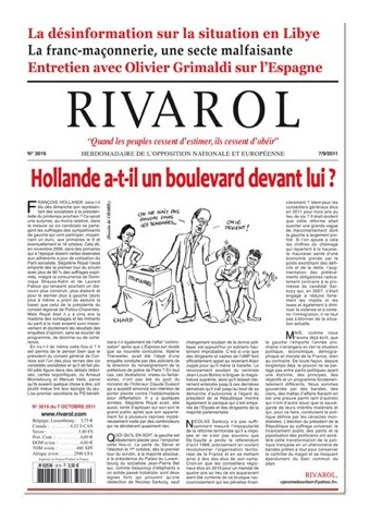 Rivarol n°3016 version numérique (PDF)